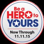 #BeAHeroToYours Badge