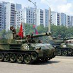 N Korea 2017 tank parade