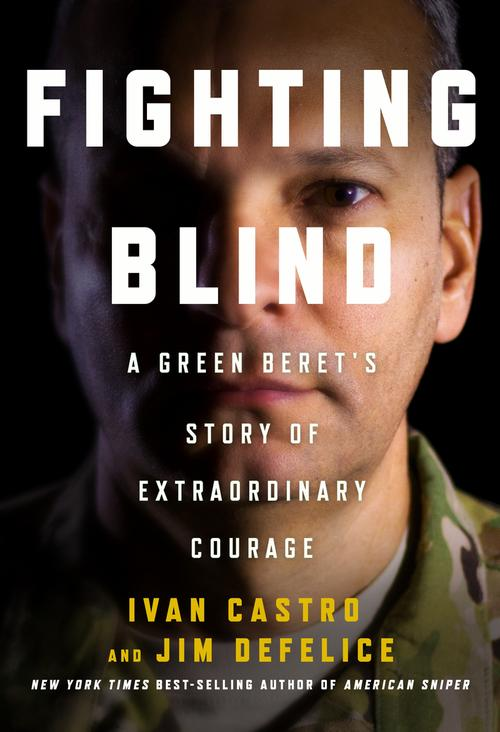 Fighting Blind Ivan Castro