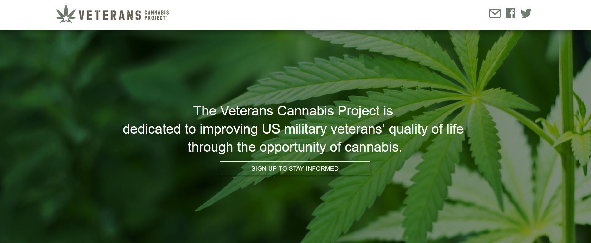 Veterans Cannabis Project: Policy Challenges