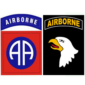 101st and 82nd Airborne in Iraq and Afghanistan since 2002