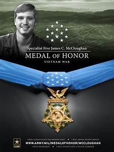 Medal of Honor James McCloughan Army Vietnam